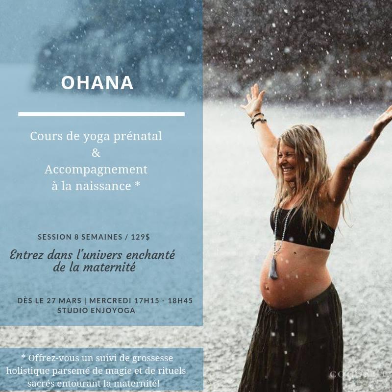 Ohana // Yoga Prénatal & Accompagnement à la Naissance